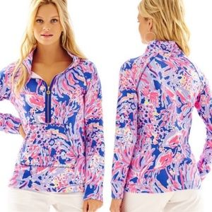 """LILLY PULITZER """"Shrimply Chic"""" Skipper popover"""